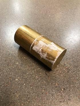 Mässing 45mm rundstång