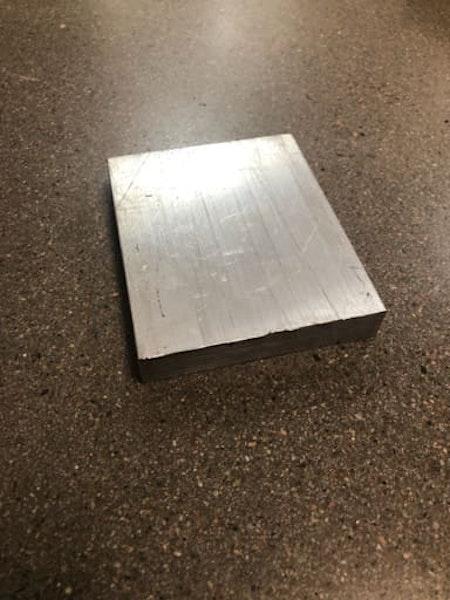 Plattstång Aluminium 80x15