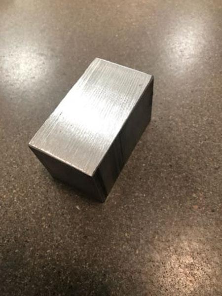 Aluminium Plattstång 70x40