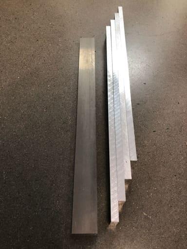 Aluminium 41x12mm