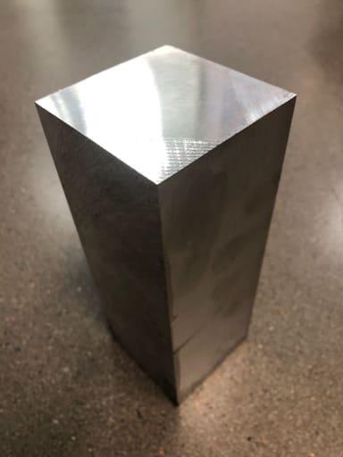 Fräsämne Aluminium 70x70mm
