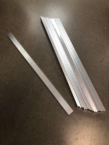 Aluminium 25x6, 16st