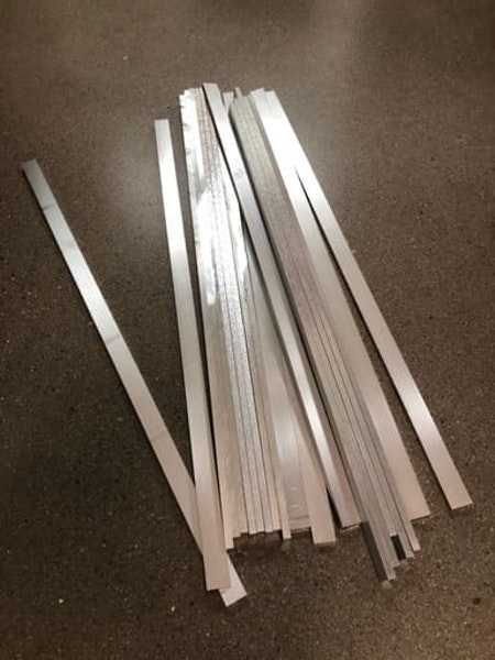 Aluminium 17x6mm, 20st
