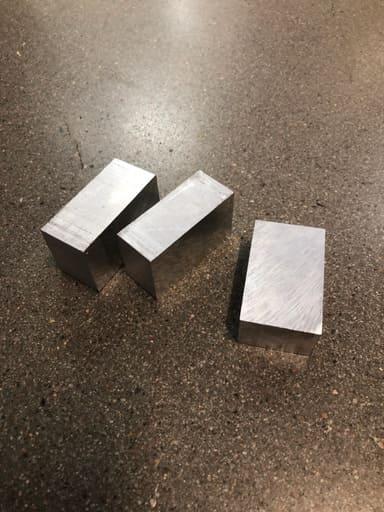 Plattstång aluminium AW6082, 50x30, 3st