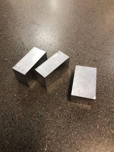 Aluminium fräsämne, plattstång 50x30
