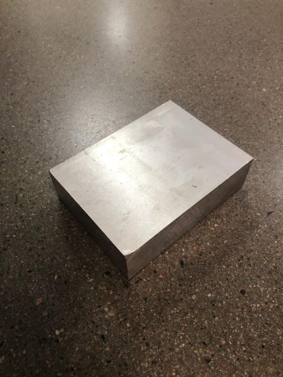 Aluminium plåt 76x30