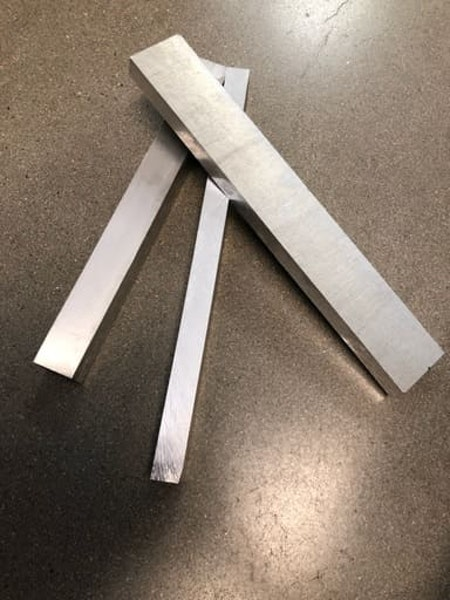 Aluminium plåt, 3 storlekar, paketpris