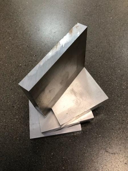 Aluminium plåt 84x15, 4st