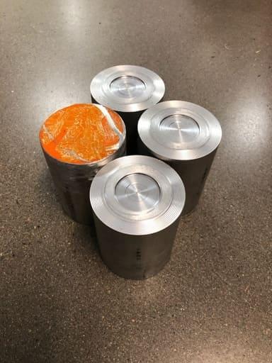 Svarvämne aluminium AW6026, 70mm, 4st