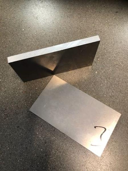 Aluminium plåt 81x10 (2st)