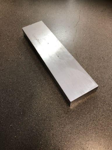Aluminium plåt 77x30