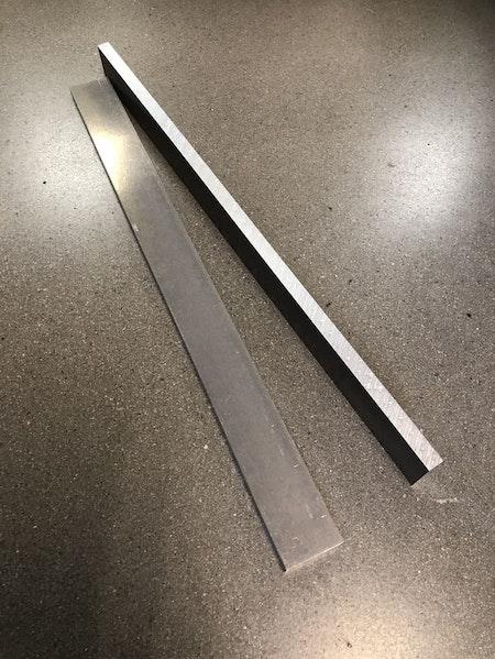 Fräsämne aluminium 40x12, 2st