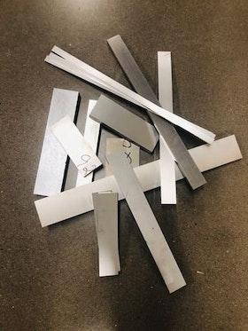 Aluminium Fräsämne Sågad Plåt AW6082 (PÅFYLLT!)