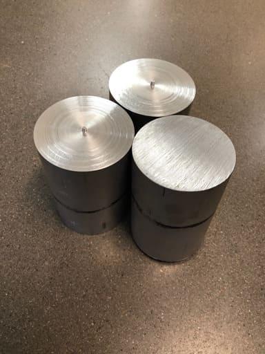 Aluminium svarvämne Ø75, AW6026