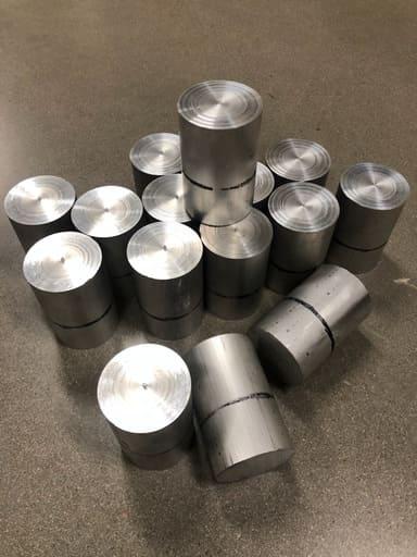 Aluminium, AW6026 Ø75, 114mm