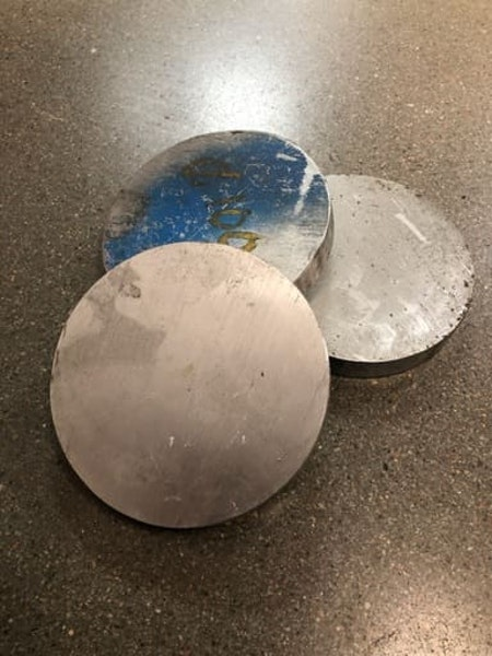 Aluminium AW6082 Ø100, 14mm