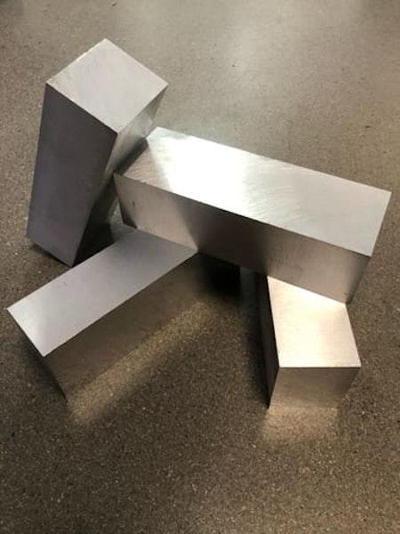 Aluminium AW6082 47x60x170