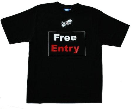 """T-shirt No Sense """"Free Entry"""" Ekologisk SUPERREA 40%!"""