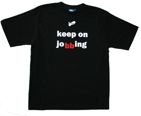 "T-shirt No Sense ""Keep on jobbing"" SUPERREA 50%"