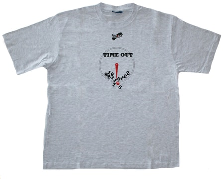 "T-shirt No Sense ""Time Out"" SUPERREA 55%"