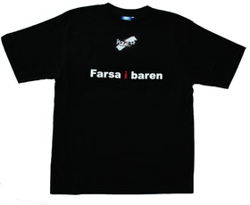 "T-shirt No Sense ""Farsa i baren"" LAGERRENSNING 55%"