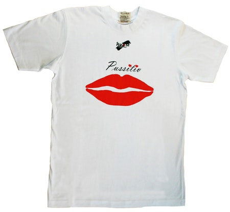 """T-shirt No Sense """"Pussitiv"""" Ekologisk LAGERRENSNING 55%"""