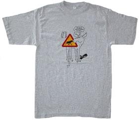 "T-shirt No Sense ""Älgmotiv"" tyska SUPERREA 50% !"