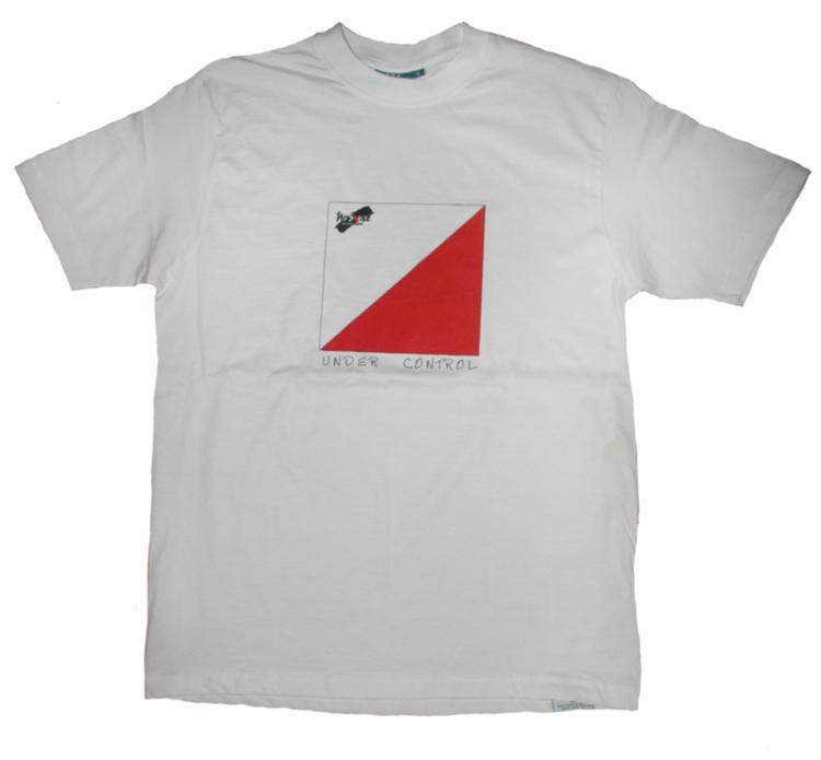 "T-shirt No Sense ""Under Control"" LAGERRENSNING 55%"