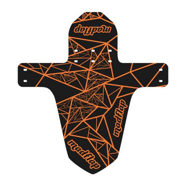 MadGeometric - Black Orange