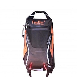4light FireDry Backpack 20L Black/Orange
