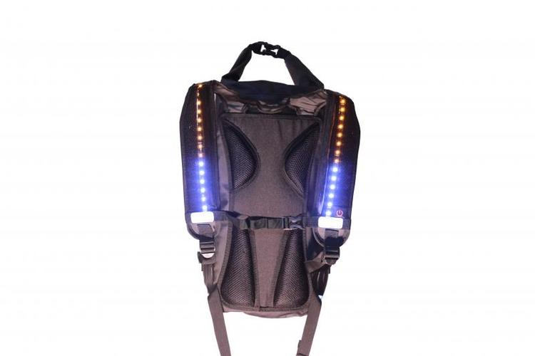 4light FireDry Backpack 20L Black/Orange