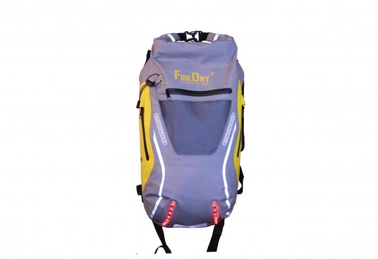 4light FireDry Backpack 20L Grey/Yellow