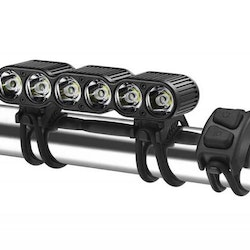 Gemini Lights TITAN 2500 OLED (4-CELL). Includes wireless remote, handlebar mount