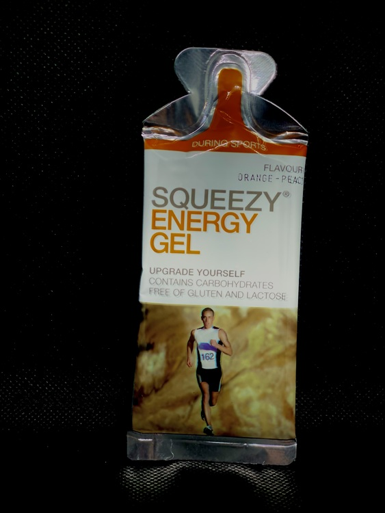 SQUEEZY ENERGY GEL Orange-Peach