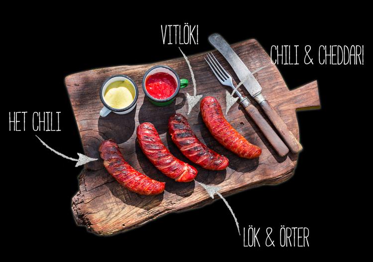 Karlstad Körv, chili 300 g