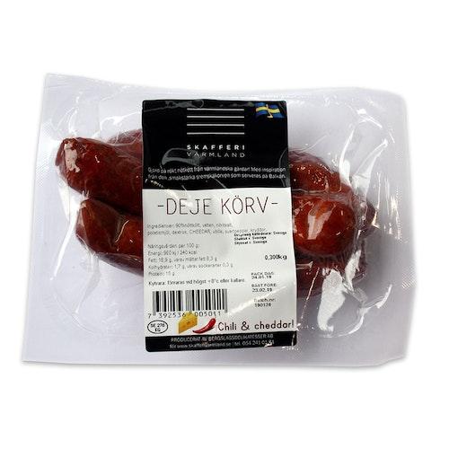 Deje Körv, chili & cheddar 300 g
