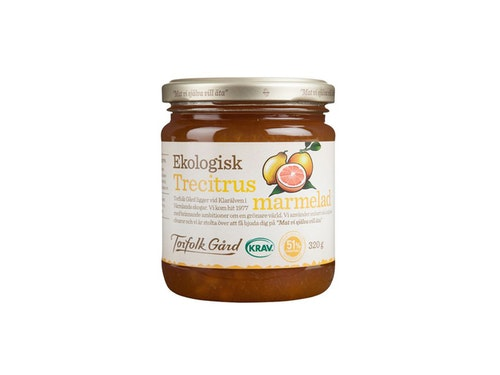 Torfolk Trecitrusmarmelad 320 g