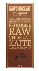 Rawchokladfabriken Kaffe, 50 g