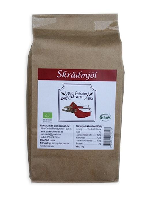 Björkaholm Skrädmjöl, 1 kg