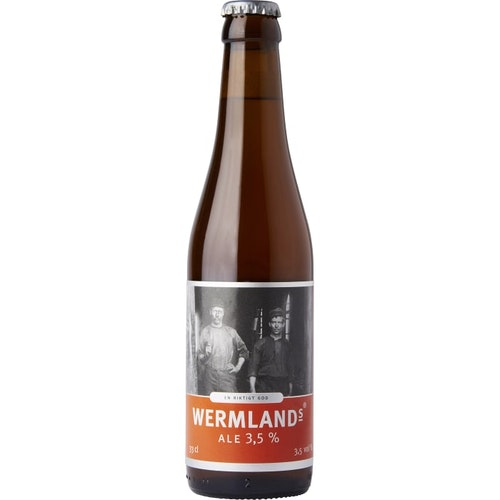 Wermlands Ale 3,5%, 33 cl