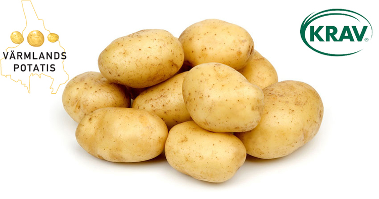 Värmlandspotatis, krav fast potatis 10 kg-säck
