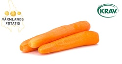 värmlandspotatis KRAV skalade morötter 5 kg