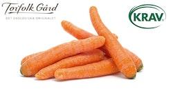 Torfolk KRAV morötter 15 kg-låda
