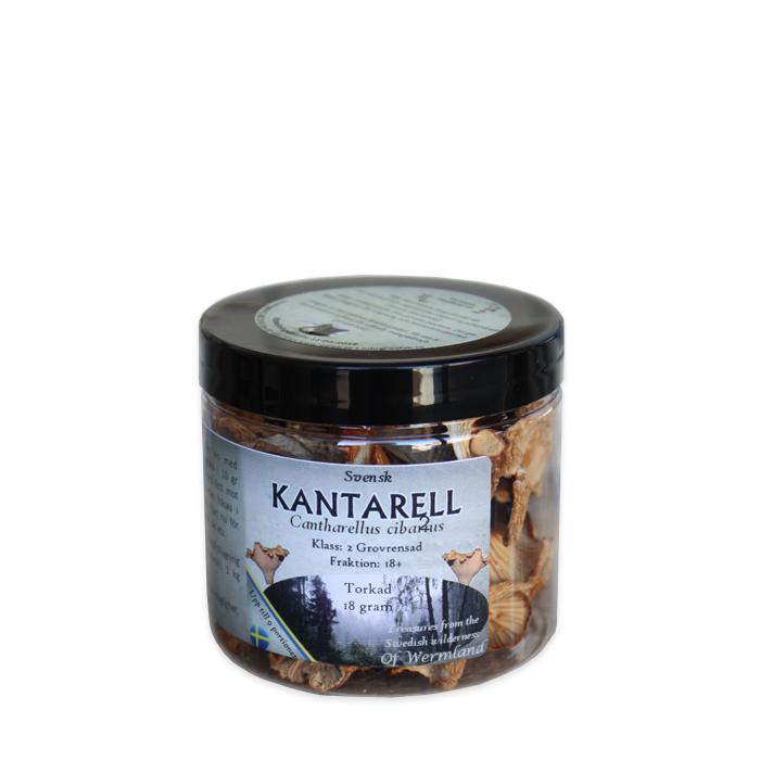 Wermlands Skogsförråd Torkad Kantarell 18 g