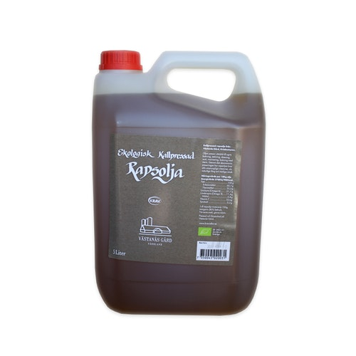 Västanås Gård Rapsolja, KRAV 5 liter