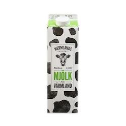 Wermlands Mejeri Mellanmjölk 1,8% 1 L
