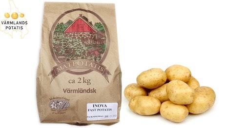 Värmlandspotatis Fast Potatis