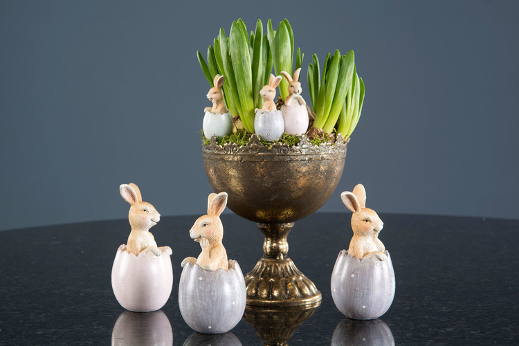 Kaniner i ägg 2-pack