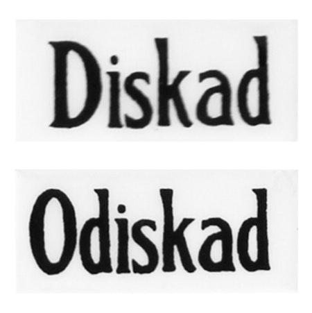 Diskad/Odiskad