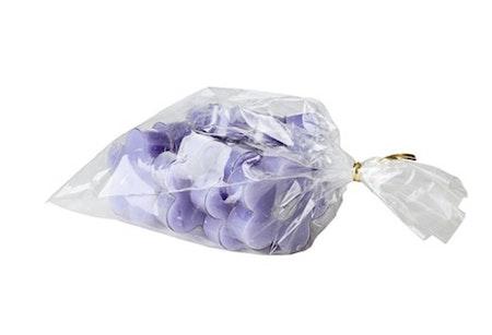 Värmeljus blomma 10-pack